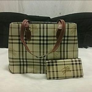 Matching Burberry Purse & Wallet